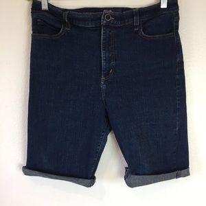 NYDJ Cut Off Jean Shorts Size 16